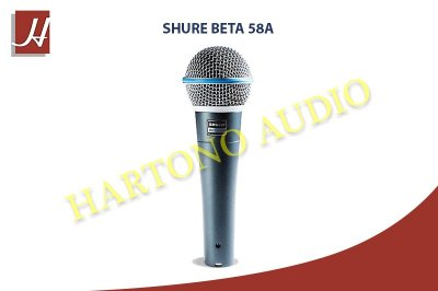 shure beta 58a