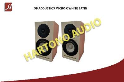 MICRO C WHITE SATIN